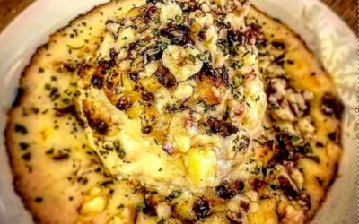 Festive Whole Roasted Cauliflower Cheese