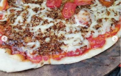 Irish Porter Cheesy Pizza