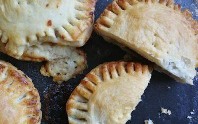 Cheese & Onion Potato Pie